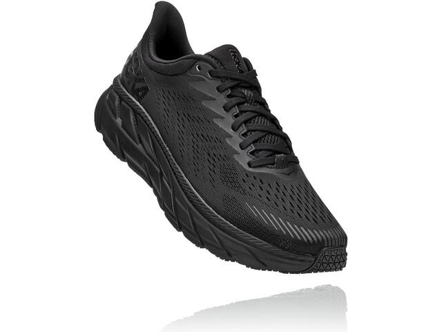 Hoka One One Clifton 7 Running Shoes Men, black/black
